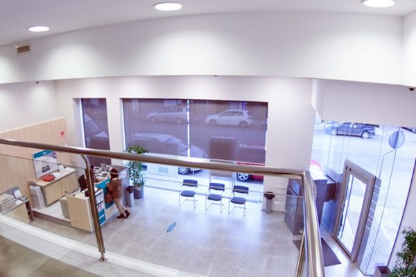 Reforma de sucursal para Cajamar en Cartagena (Murcia)